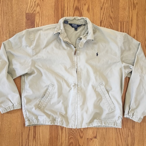 bea830114 Men s vintage polo Ralph Lauren Harrington jacket.  M 5aa3245b33162760715456bd